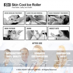 Skin Ice Roller for Face, Body Skin Refreshing and Rejuvenation ( Plastic Roller )