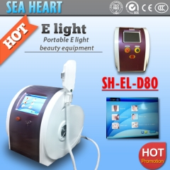 Portable ELight(IPL+RF) Machine with Super Hair Removal SHR and OPT