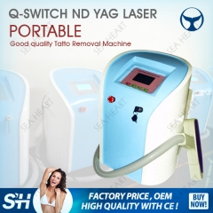 Latest price q-switch nd yag laser equipment beauty equipment