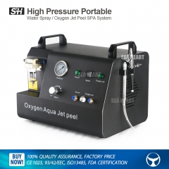 High Pressure Portable Water Spray & Oxygen Jet Peel SPA System