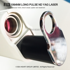 1064nm Long pulsed nd yag laser machine for hair removal and Vascular Lesion